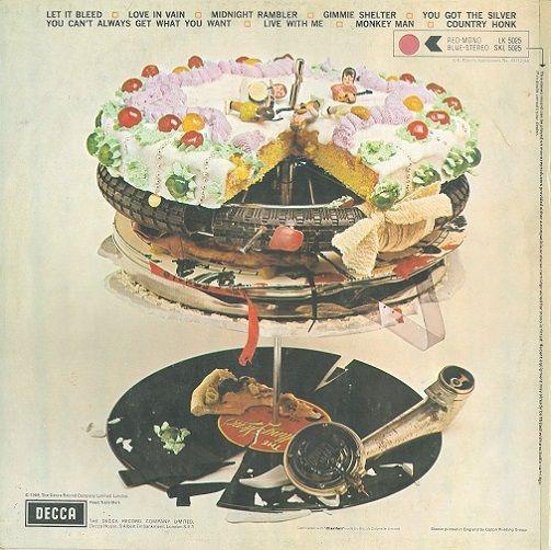 The Rolling Stones Let It Bleed Mono Record Album Planet